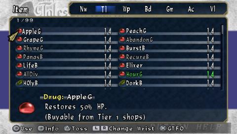 ~Tier 1 Shops~